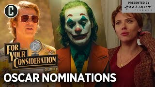 2020 Oscar Nominations: Surprises And Snubs   For Your Consideration