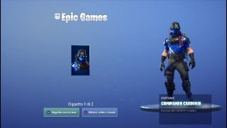 FORTNITE! THE epic games gives the COMMANDO CARBONIO skin!