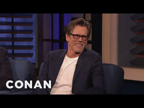 Kyra Sedgwick Wasn't Into Kevin Bacon When They First Met - CONAN on TBS