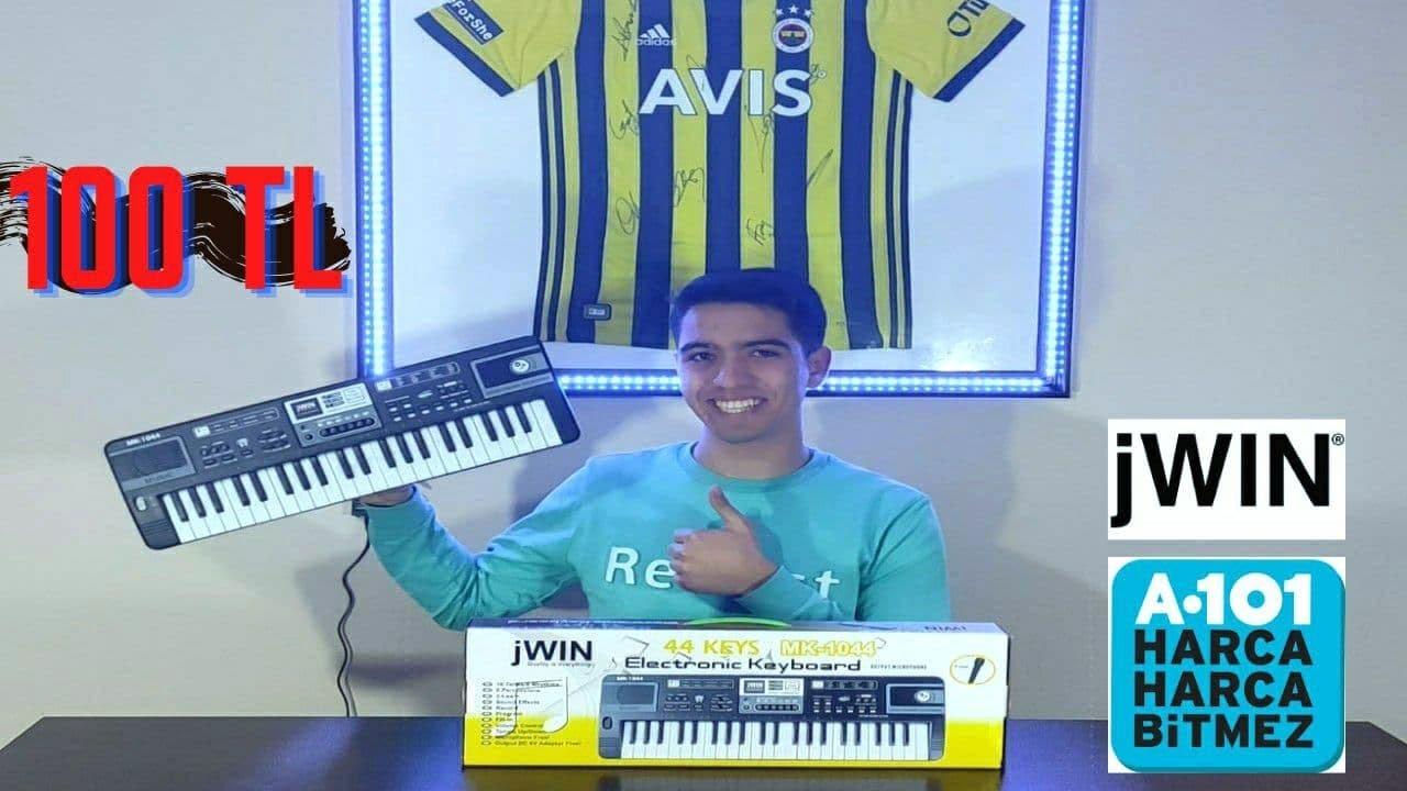 A101' de Satılan Org' u İnceledim !!!   jWIN 44 KEYS MK-1044 Electronic Keyboard (#A101Teknolojisi)