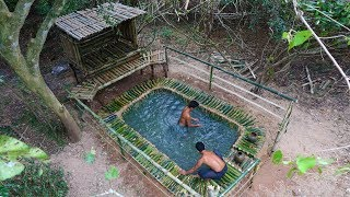 Building Swimming Pool And House (Bamboo 100%)(, 2018-07-10T10:30:01.000Z)