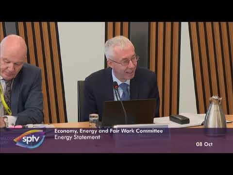 Scottish Parliament - Energy Statement - 8 Oct 2019