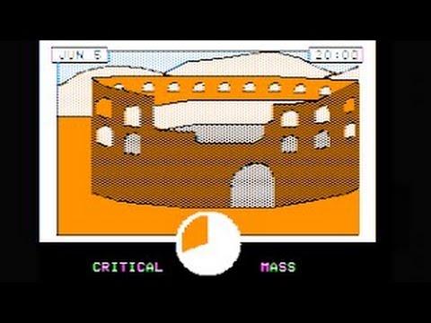 Critical Mass Walkthrough/longplay (Apple II - Sirius Software)