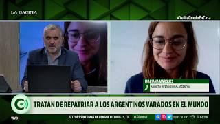 Amnistia Internacional Argentina trata de repatriar a los argentinos varados en el exterior