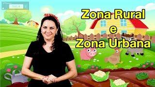 Geografia 004 - Zona Rural e Zona Urbana - Libras YouTube Videos