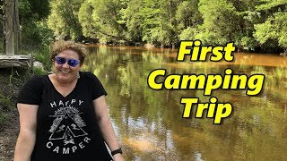 Our First Camping Trip at Styx River