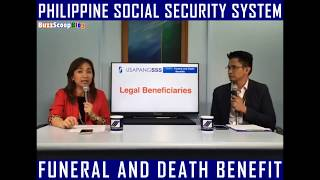 SSS Funeral and Death Benefit | Public Service