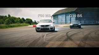 Bmw F90 m5 vs Alpina G30 B5 | Jeremy Clarkson | Grand Tour
