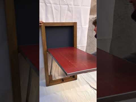 Mesa vintage abatible
