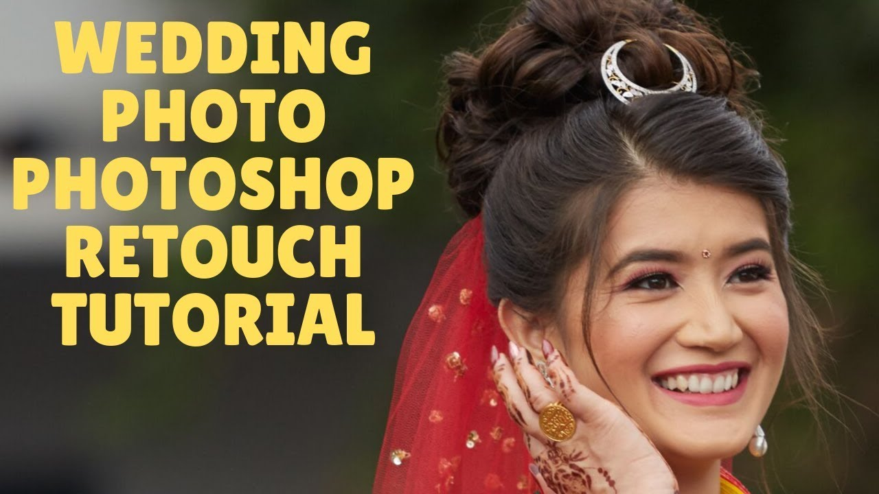 Wedding Photo Photoshop Retouching Tutorial | I Edit Your Photo