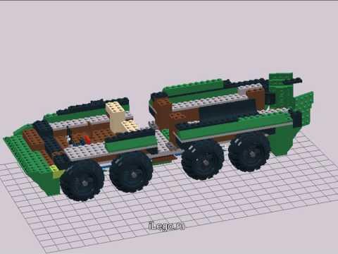 Лего БТР-80 v2/Lego BTR-80 v2 - YouTube