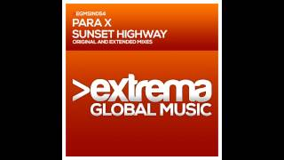 Para X - Sunset Highway (Extended Mix)