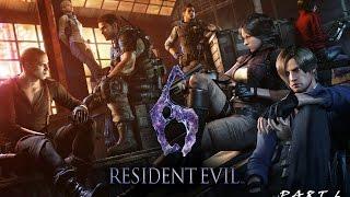LIVESTREAM: Resident Evil 6 - Gameplay Walkthrough Part 6 w/ @PS360HD2 [1080p 60FPS HD]