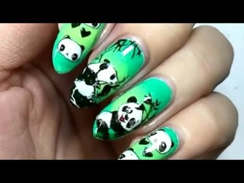 Nail Art Philippines Stamping Manicure Panda Plates And More