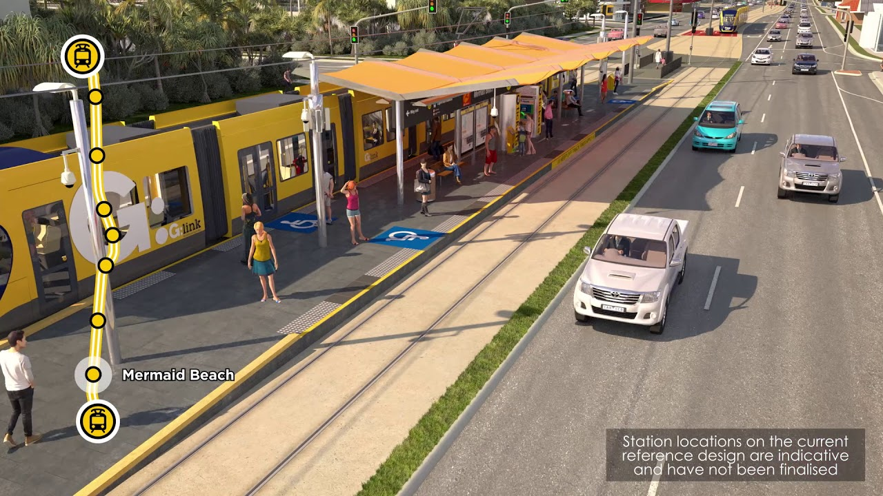 Gold Coast Light Rail Stage 3A (Department of Transport and Main Roads)