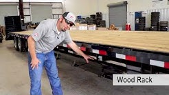 40 Ft. Flatbed Trailer Loaded with Optional Features.