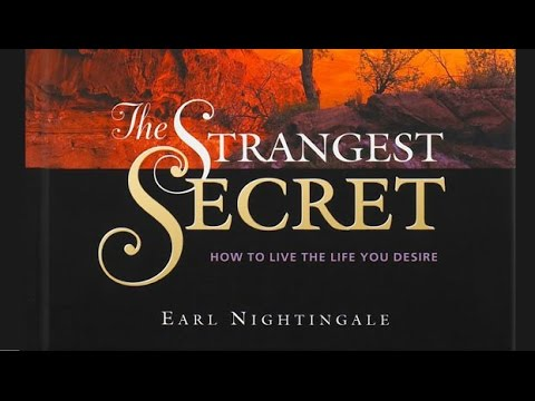 The Strangest Secret in the World by Earl Nightingale. Full recording.