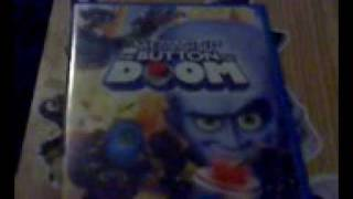 Megamind and Megamind:The Button Of Doom Dvd Unboxing and review