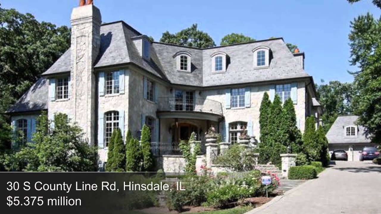 Top 6 Most Expensive Homes In Hinsdale Illinois Youtube