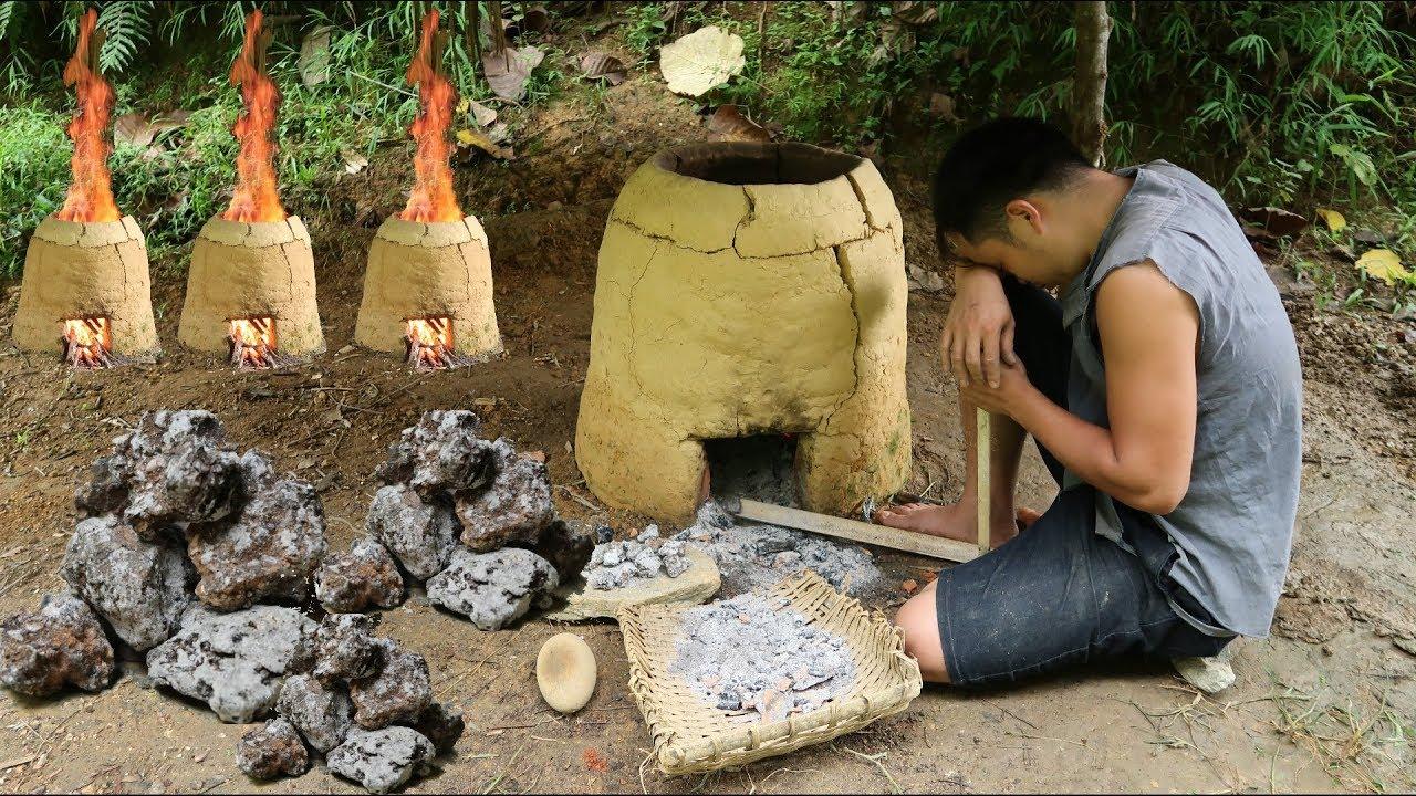 Primitive Skills: Iron ore experiment   OMG 😱 Failure 🤮😂