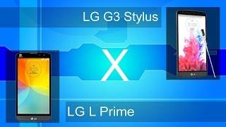 LG G3 Stylus e LG L Prime - Análise e comparativo - PT-BR - Brasil