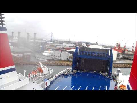 Stena Jutlandica departure Frederikshavn.