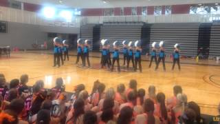 Mid American Pom Staff day 1 camp 2014- Can You Do This