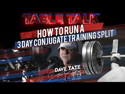 How to Run a Three-Day Conjugate Training Split | elitefts.com