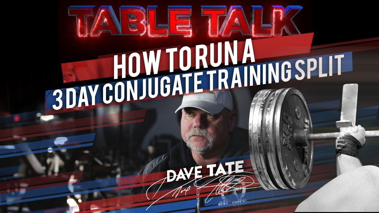 How to Run a Three-Day Conjugate Training Split | elitefts com
