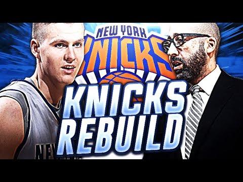 NEW COACH KNICKS! NY KNICKS REBUID! NBA 2K18