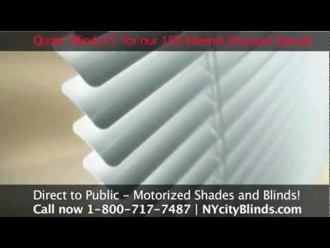 Motorized Blinds in New York by New York City Blinds