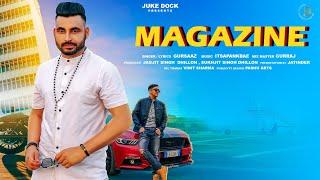 Magazine : Gursaaz (Full Song) Pank Beats | New Punjabi Song 2020 | Juke Dock