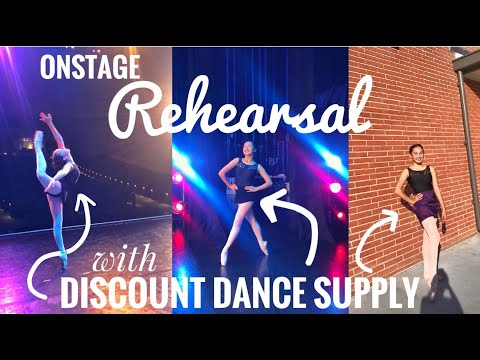Recital Rehearsals With Discount Dance Supply!