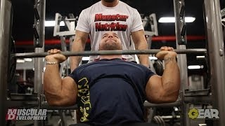 IFBB Pro Jon Delarosa Trains Shoulders 10 Weeks Out from the Arnold Classic Brazil
