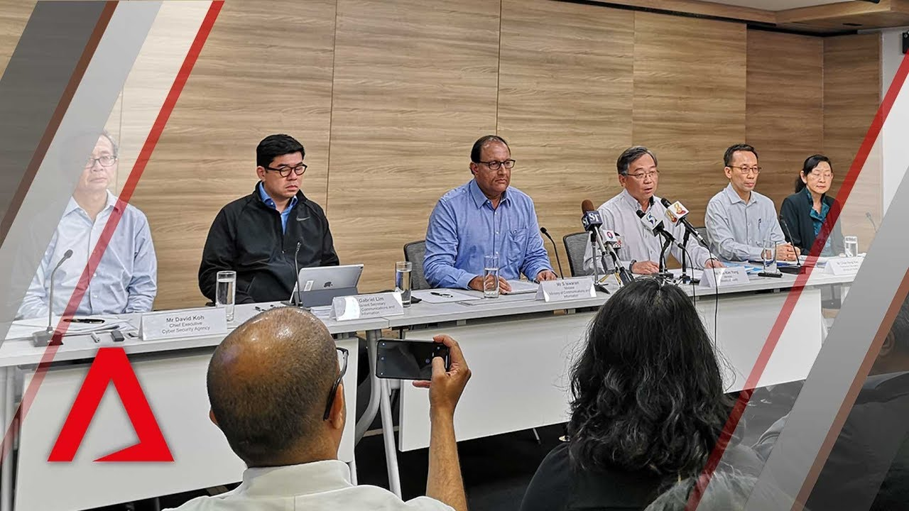 Singapore health system hit by 'massive' cyberattack | News conference in full