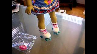 Dolls Get New Roller Skates And Pet Hats