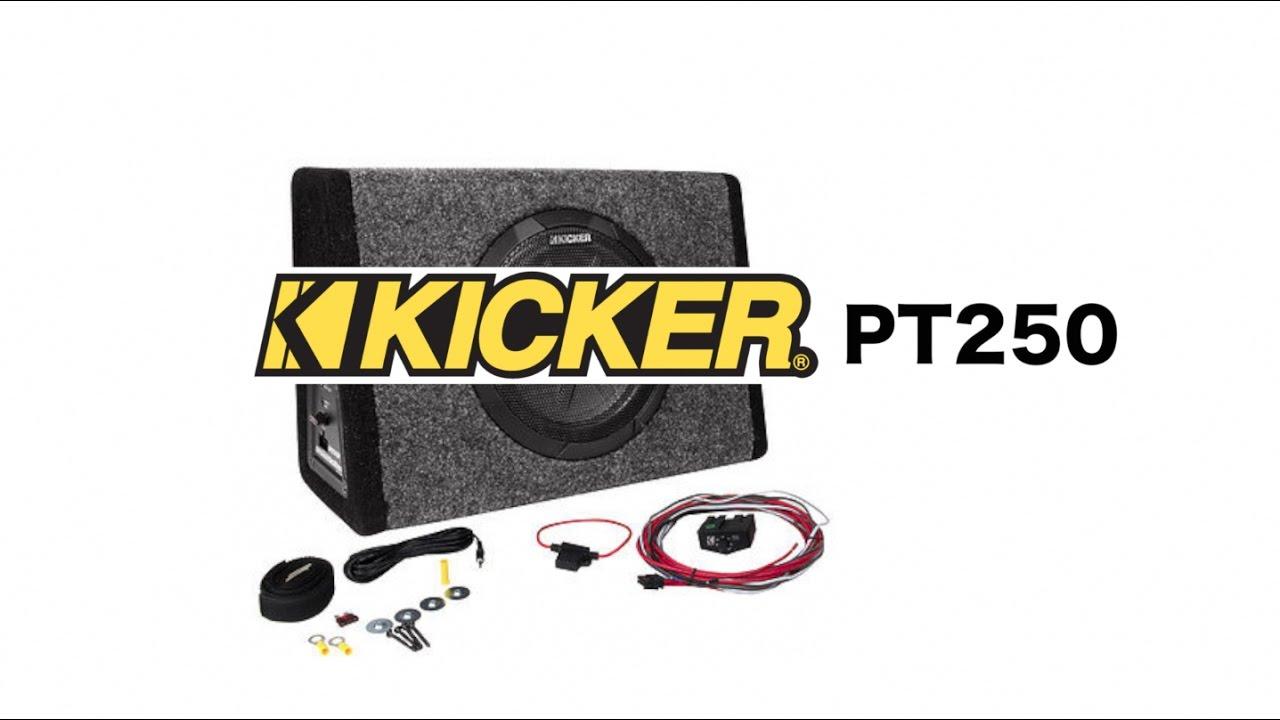 hight resolution of kicker pt250 review youtube pt250 kicker wiring harness