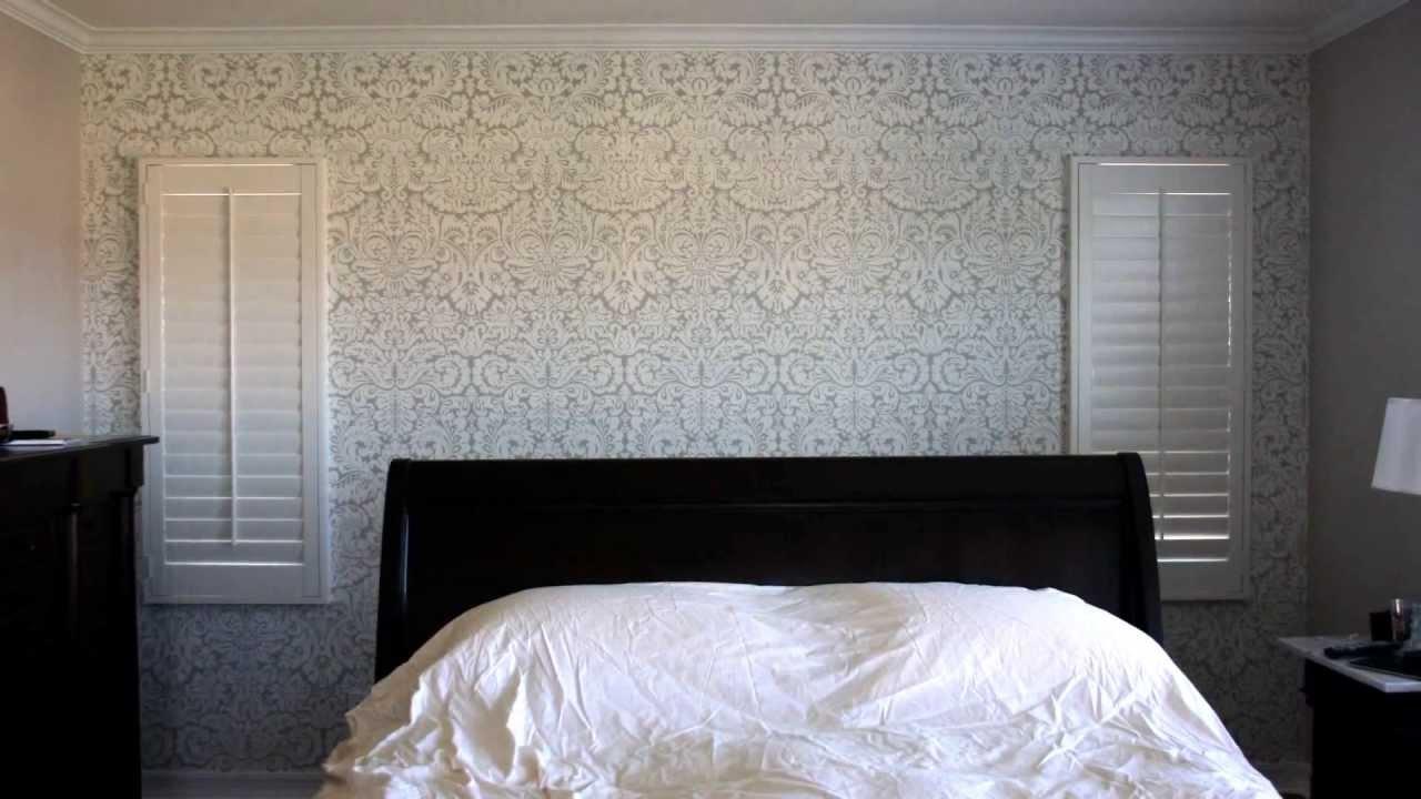 Bedroom Wallpaper Installation Time Lapse Www Mattlyons Us