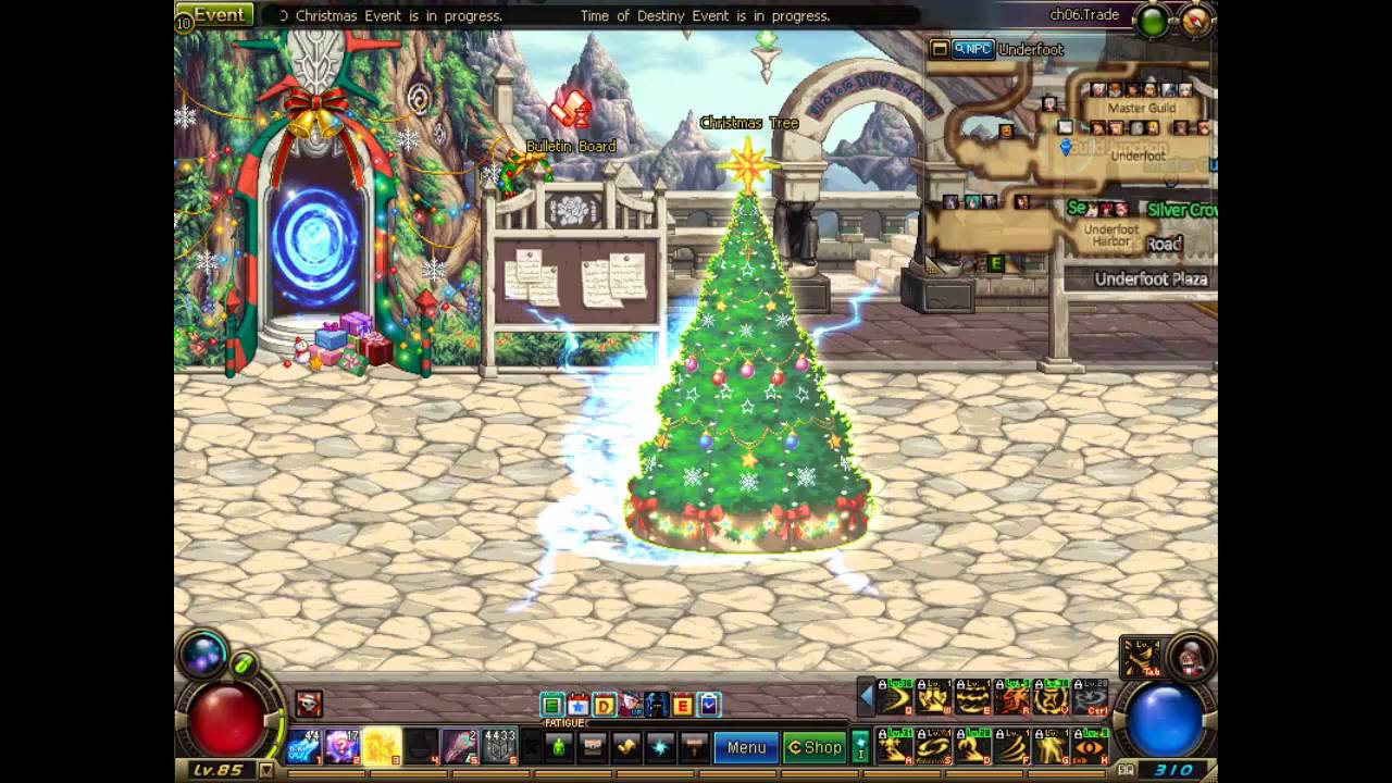 DFO]1st DFO Christmas Event Tip - YouTube