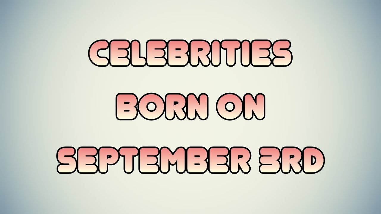 Famous People Born in 1981 - On This Day
