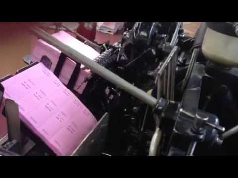 Letterpress printing 1