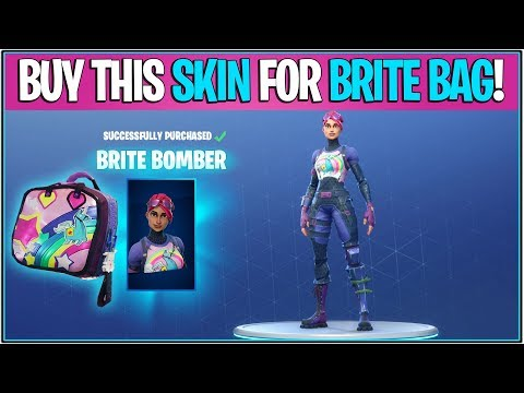 *NEW* Fortnite: BRITE BOMBER AVAILABLE! *Buy Skin To Unlock