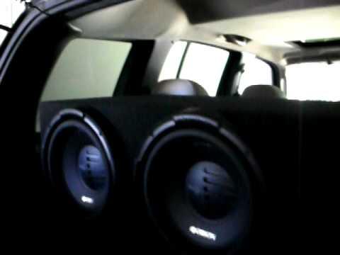 4 12s Orion XTR Pros, Wiz Khalifa  Hustlin
