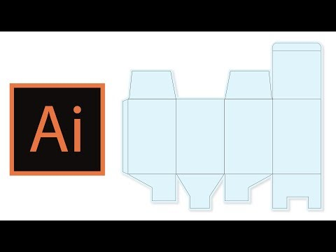 Tutorial Carton Packaging Design in 15 minutes   speed normal   Adobe Illustrator CC Mp3