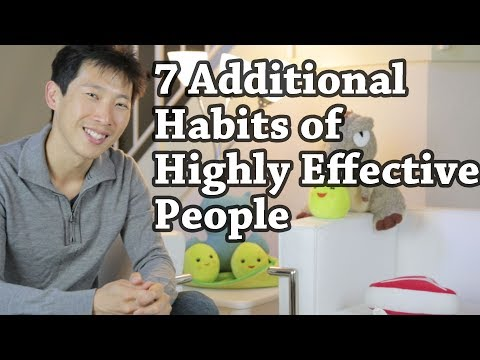 7 Additional Habits of Highly Effective People | BeatTheBush