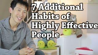 7 Additional Habits of Highly Effective People | BeatTheBush