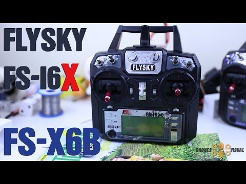 FlySky FS-i6X Transmitter and FS-X6B Receiver