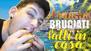 ARANCINI BRUCIATI FATTI IN CASA (ricette ignoranti)