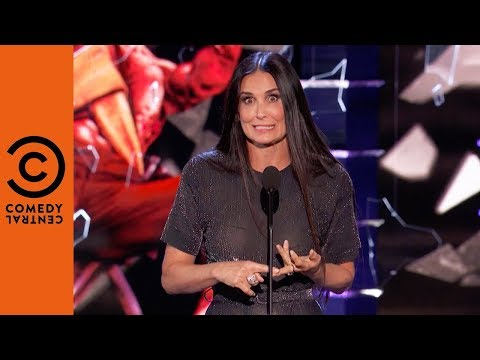 Demi Moore Surprises Her Ex  Roast of Bruce Willis