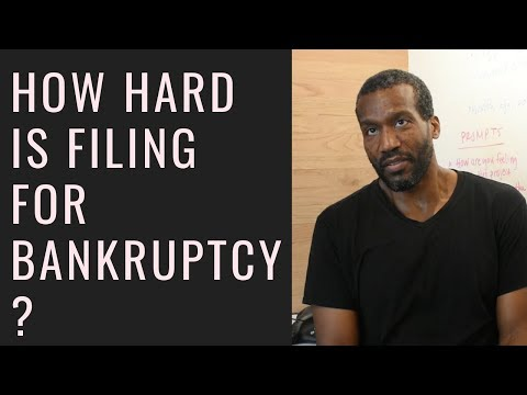 How Hard is Filing for Bankruptcy Online?